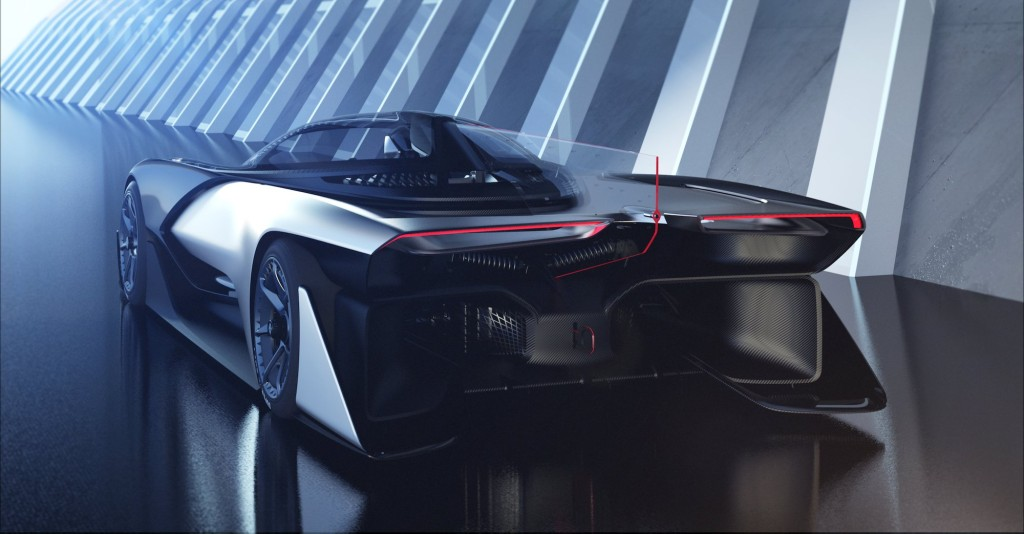 Faraday Future Concept FFZERO1